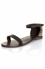 Roper Women's Beaded Sandal - Tan