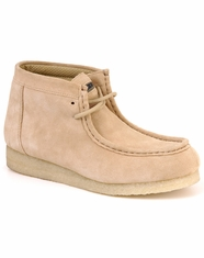 Roper Women's Gum Sole Chukka Shoes - Sand Suede