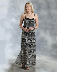 Roper Women's Maxi Dress - Black (Closeout)