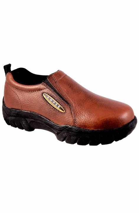 Roper Women's Sport Slip On Shoes - Smooth Bay Brown