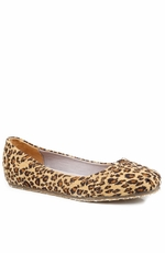 Roper Womens Cheetah Print Ballerina Shoes