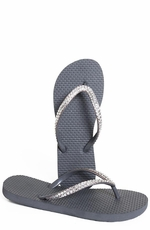 "Scandalous Womens ""Miss Sunset"" Flip Flops (Closeout)"