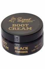 Scout Cream Boot Polish - Black