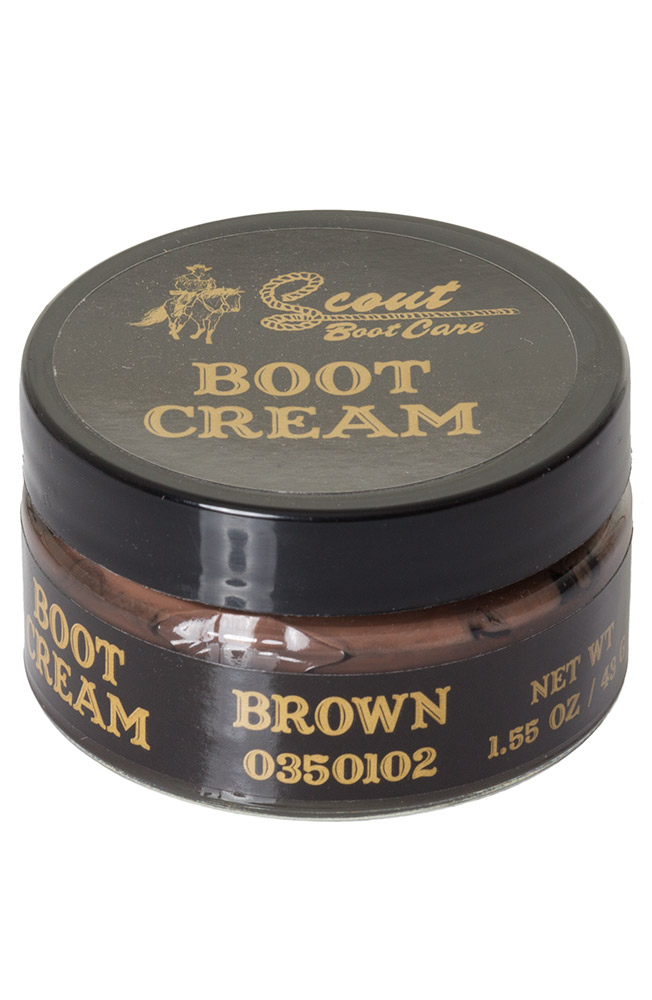 Scout Cream Boot Polish - Brown