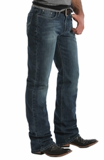 Southern Thread Mens Riordan Jeans - Dark Stonewash (Closeout)
