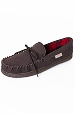 Staheekum Mens Flannel Lined Moccasins (Closeout)