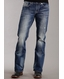 Stetson Mens Rocks Fit Boot Cut Jeans - Medium Wash
