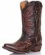 Tanner Mark Kids Rea Stitch Western Boots (Closeout)