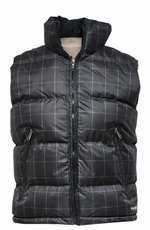 Tempco Men's Check Print Bubble Vest - 2 Colors (Closeout)