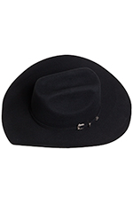 Texas Hat Kids 3X Felt Ponderosa - Black (Closeout)