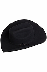 Texas Hat Mens 3X Felt Ponderosa - Black