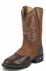 Tony Lama Men's TLX Performance Cowboy Boots - Chocolate/Tan
