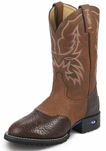 Tony Lama� Men's TLX� Performance� Cowboy Boots - Chocolate/Tan