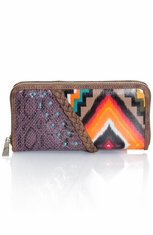 Trenditions Women's Catchfly Bambi Wallet - Aztec