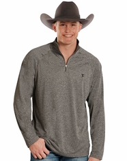 Tuf Cooper Men's 1/4 Zip Performance Zip Knit