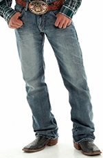 B. Tuff Men's Steel Relaxed Fit Boot Cut Jeans - Medium Wash (Closeout)