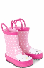 "Western Chief Girl's ""Hello Kitty"" Rain Boots - Pink"