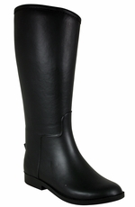 Western Chief Womens Rubber Riding Boot - Black