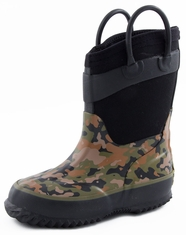 Western Chief Youth Neoprene Boot - Camo