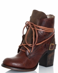 Women's Freebird by Steven Billy Boots - Cognac