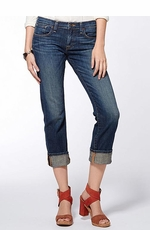Women's Lucky Brand Sienna Tomboy Crop Jeans - Lockwood