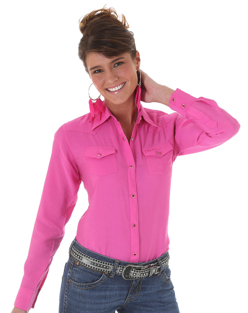 Wrangler Western Shirts and Dresses for Women