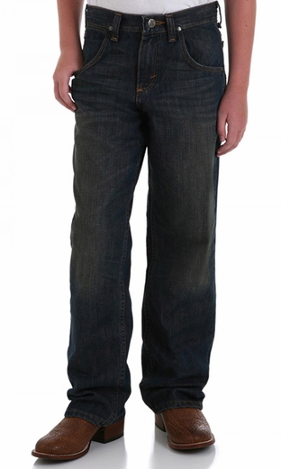 Wrangler Boy's 20XTREME� Relaxed Straight Leg Jeans - Night Sky (Closeout)