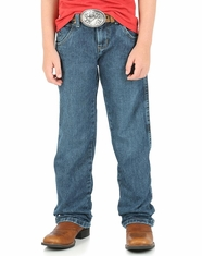 Wrangler Boy's Retro Straight Leg Western Jeans - Everyday Blue (Closeout)