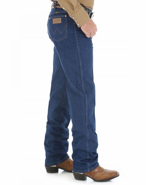Wrangler Men's 13MWZ Cowboy Cut Original Fit Jeans - Prewashed Indigo