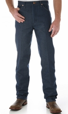 Wrangler Men's 13MWZ Cowboy Cut Original Fit Jeans - Rigid Indigo