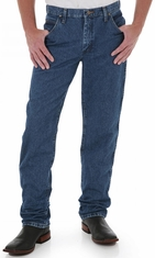 Wrangler Men's 47MWZ Premium Performance Cowboy Cut Regular Fit Jeans - Dark Stone (Closeout)