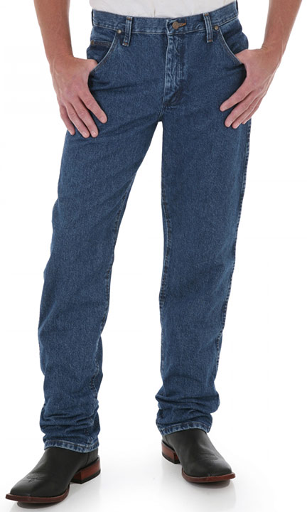Wrangler Men's 47MWZ Premium Performance Cowboy Cut Regular Fit Jeans - Dark Stone