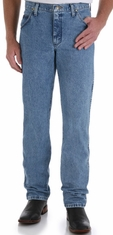 Wrangler Men's 47MWZ Premium Performance Cowboy Cut Regular Fit Jeans - Stonewash (Closeout)