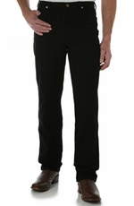 Wrangler Men's 936 Cowboy Cut Slim Fit Jeans - Black, White, Tan or Wheat