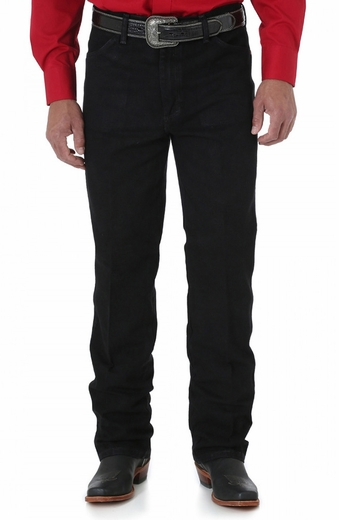 Wrangler Men's 936 Cowboy Cut Slim Fit Jeans - Black