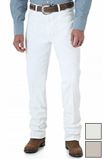 Wrangler Men's 936 Cowboy Cut Slim Fit Jeans - White, Tan or Wheat (Closeout)