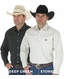 Wrangler Men's Cowboy Cut Twill Work Western Shirts - 7 Fashion Colors