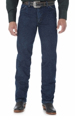 Wrangler Men's Gold Buckle Original Fit Jeans - Dark Stonewash (Closeout)