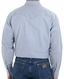 Wrangler Men's Long Sleeve Chambray Western Work Shirt