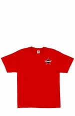 "Wrangler Men's Short Sleeve ""PBR"" Western Tee Shirt - Red (Closeout)"
