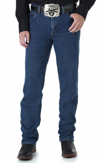 Wrangler Mens Advanced Comfort Jeans - Mid Stone