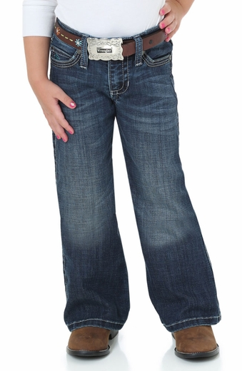 Wrangler Girls Rock 47 Boot Cut Jeans (Closeout)