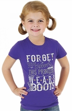"Wrangler Rock 47 Girls ""Princess"" Shirt - Purple"