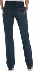 Wrangler Women's Q-Baby Ultimate Riding Mid Rise Stretch Jeans - Tuff Buck