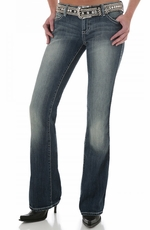 Wrangler Women's Rock 47 Ultra Low Rise Jeans - Rare Find (Closeout)