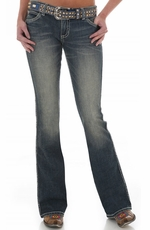 Wrangler Women's Rock 47 Ultra Low Rise Jeans - Viva Glam (Closeout)