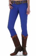 Wrangler Women's Ultra Low Rise Booty Up Skinny Jeans - Blue (Closeout)