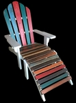 Adirondack Chair made from Recycled Boats