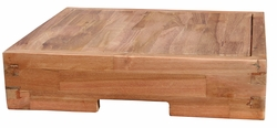 FJL Square Recycled Teak Cutting board