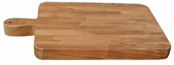 FJL w. Handle Recycled Teak Cutting board